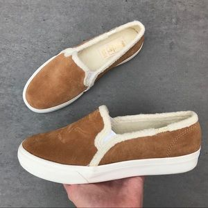 Keds Double Decker Suede Lined Sneakers